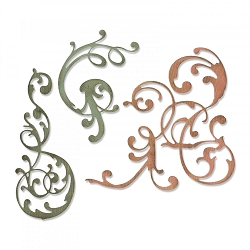 Sizzix - Thinlits Die Set by Tim Holtz - Adorned