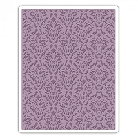 Sizzix - Texture Fades Embossing Folder by Tim Holtz - Damask