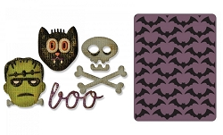 Sizzix - Sidekick Side Order Set by Tim Holtz - Halloween