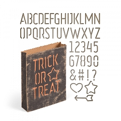 Sizzix - Thinlits Die by Tim Holtz - Treat Bag