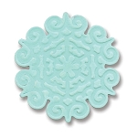 Sizzix-Embosslits Small by Basic Grey-Figgy Pudding Snowflake #2