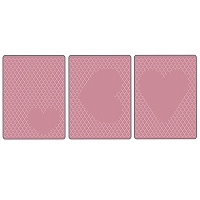 Sizzix Tim Holtz Embossing Diffuser Set 3 (3pk) Hearts
