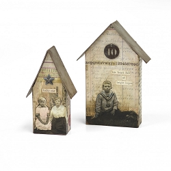Sizzix - Bigz Die by Tim Holtz - Tiny Houses