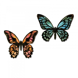 Sizzix - Thinlits Die Set by Tim Holtz - Mini Detailed Butterflies