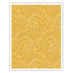 Sizzix - Texture Fades Embossing Folder by Tim Holtz - Flourish