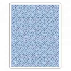 Sizzix - Texture Fades Embossing Folder by Tim Holtz - Latticework