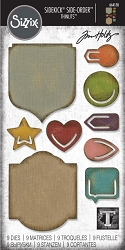Sizzix - Sidekick Side Order Thinlits by Tim Holtz - Noted