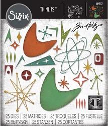 Sizzix - Thinlits Die Set by Tim Holtz - Atomic Elements :)