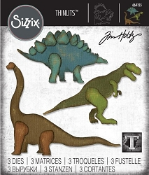 Sizzix - Thinlits Die Set by Tim Holtz - Prehistoric :)