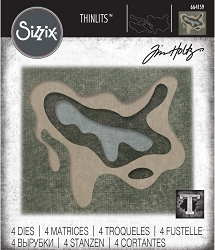 Sizzix - Thinlits Die Set by Tim Holtz - Splat