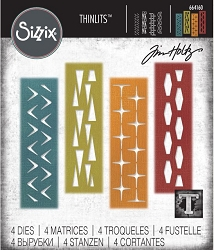 Sizzix - Thinlits Die Set by Tim Holtz - Retro Repeat :)