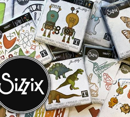 Sizzix - Tim Holtz 2019 Chapter 1 release
