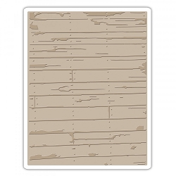 Sizzix - Texture Fades Embossing Folder by Tim Holtz - Wood Planks