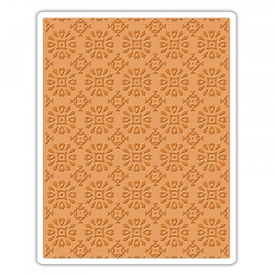 Sizzix - Texture Fades Embossing Folder by Tim Holtz - Rosettes