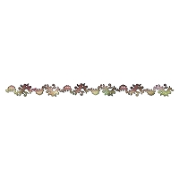 Sizzix Sizzlits - by Prima Marketing - Decorative Strip Die - Bordeaux :)