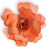 Sizzix Sizzlits Die - by Scrappy Cat - Flower, Rose 3D :)