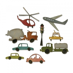Sizzix - Thinlits Die Set by Tim Holtz - Cityscape Commute