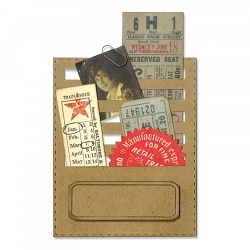 Sizzix - Thinlits Die Set by Tim Holtz - Stitched Slots