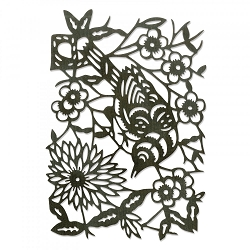 Sizzix - Thinlits Die by Tim Holtz - Paper-Cut Bird