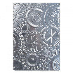Sizzix - 3-D Texture Fades Embossing Folder by Tim Holtz - 3D Mechanics