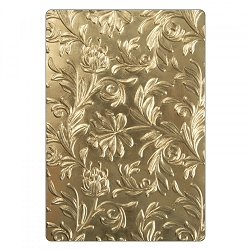 Sizzix - 3-D Texture Fades Embossing Folder by Tim Holtz - 3D Botanical