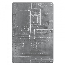 Sizzix - 3-D Texture Fades Embossing Folder by Tim Holtz - 3D Foundry