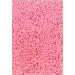 Sizzix - 3-D Textured Impressions Embossing Folder by Courtney Chilson - Azaleas