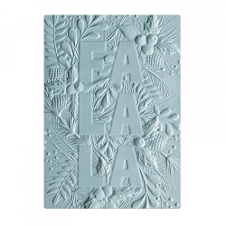 Sizzix - 3-D Textured Impressions Embossing Folder by Courtney Chilson - 3D Fa La La  :)