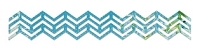 Sizzix Sizzlits - Decorative Strip Die - by Karen Burniston - Chevron Border