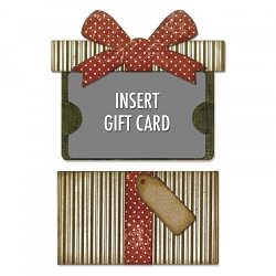 Sizzix - Thinlits Die Set by Tim Holtz - Gift Card Package