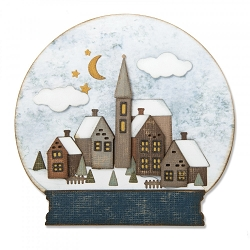 Sizzix - Thinlits Die Set by Tim Holtz - Snowglobe #2
