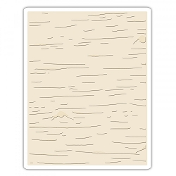 Sizzix - Texture Fades Embossing Folder by Tim Holtz - Birch