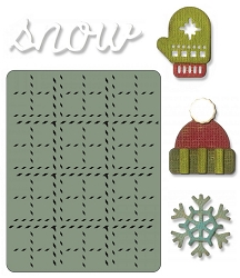 Sizzix - Sidekick Side Order Set by Tim Holtz - Winter