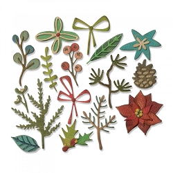 Sizzix - Thinlits Die by Tim Holtz - Funky Festive