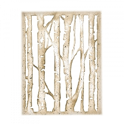 Sizzix - Thinlits Die Set by Tim Holtz - Branched Birch