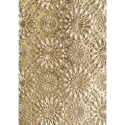 Sizzix - 3-D Texture Fades Embossing Folder by Tim Holtz - 3D Kaleidascope