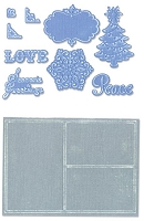 Sizzix Framelits Die Set 9PK w/Textured Impressions - Collage Frames Set by Rachael Bright :)