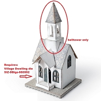 Sizzix - Bigz Die by Tim Holtz - Village Bell Tower (requires Village Dwelling)