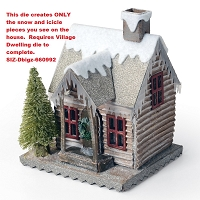 Sizzix - Bigz Die by Tim Holtz - Village Winter (requires Village Dwelling)