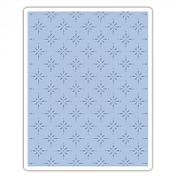Sizzix - Texture Fades Embossing Folder by Tim Holtz - Star Bright