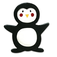 Sizzix - Bigz by Dena Designs - Animal Dress-Ups Penguin :)