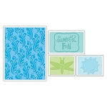 Sizzix Textured Impressions - Summer Fun Set By Brenda Pinnick :)