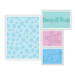Sizzix Textured Impressions - Summer Set By Rachael Bright :)