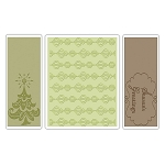 Sizzix Textured Impressions - Season's Greetings Set by Rachael Bright :)