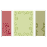 Sizzix Textured Impressions - Peace Poinsettia Set by Rachael Bright