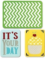 Sizzix Thinlits - Dies - by Rachael Bright - Life Made Simple - Birthday # 2