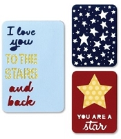 Sizzix Thinlits - Dies - by Rachael Bright - Life Made Simple - Stars