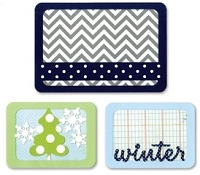 Sizzix Thinlits - Dies - by Rachael Bright - Life Made Simple - Winter