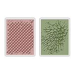 Sizzix Texture Fades by Tim Holtz - Checkerboard & Cracked
