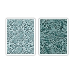Sizzix Texture Fades by Tim Holtz - Damask & Regal Flourishes